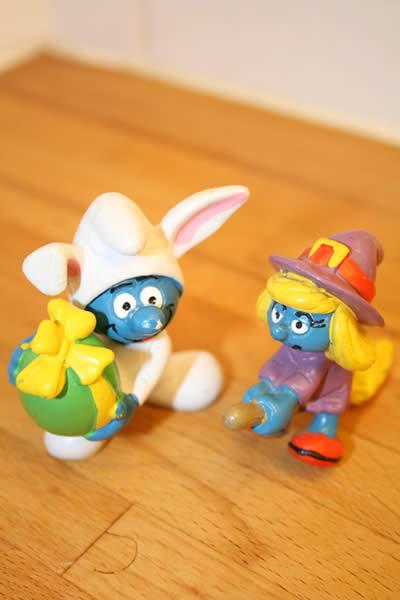 Glad påsk önskar Crusty och Japanna